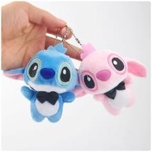 10CM Cartoon Stitch Lilo & Plush Toys Doll Children Stuffed Toy Lovely Kids Birthday Gifts Animal Character Cute Girls