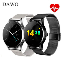 DAWO K88H Fitness Tracker Smart Watch Men Heart Rate Monitor Waterproof Wearable Devices Smartwatch for IOS Android PK GT08 GT88