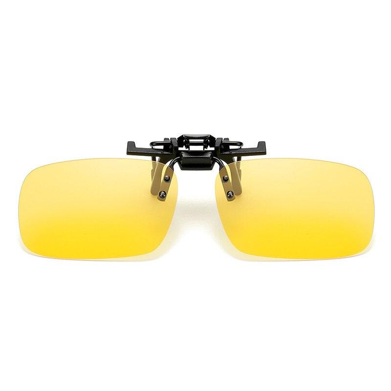 Рыбалка использовать солнцезащитные очки клип для очков на Стиль Солнцезащитные очки UV400 поляризационные Рыбалка верховой езды и Пешие прогулки Очки День/ночное видение очки - Цвет: Yellow
