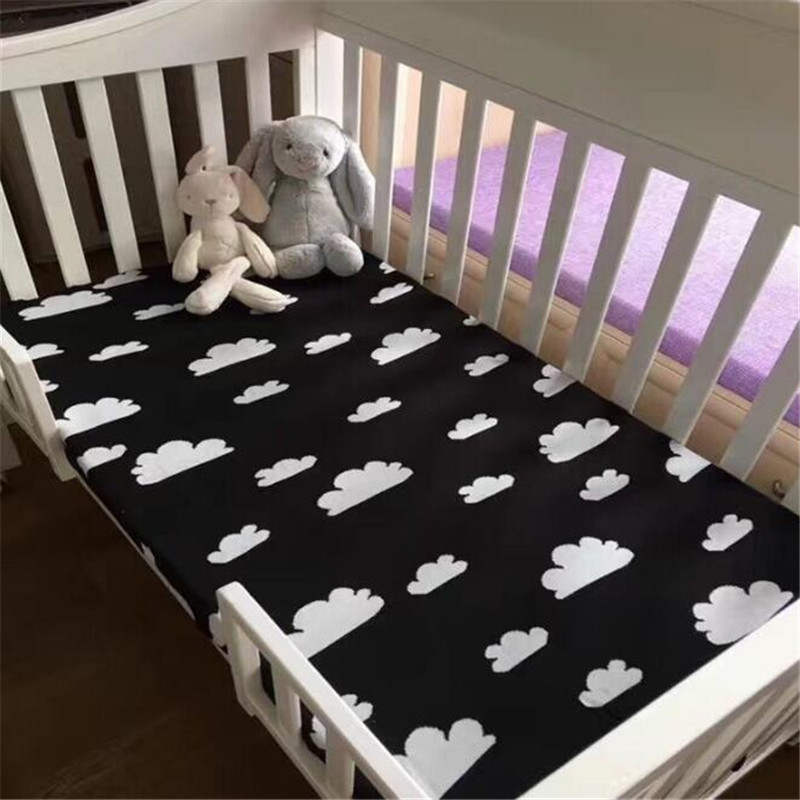 lovely Newborn Baby Blankets Soft Summer 110cmX130cm rabbit printed Sleeping Bed Air conditioning blanket blanket sanky home 2017 new arrival brand blanket 1pc coral warm blankets fleece soft throw blanket solid blanket on bed 150x200cm thick