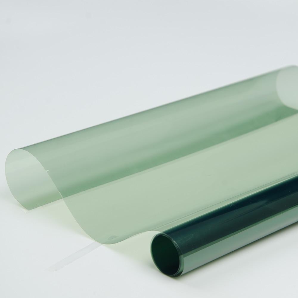 100x600 cm 70% VLT 100% UV isolation thermique auto-adhésif Nano céramique 96% IR rejet de chaleur fenêtre de voiture teinte vinyle - 4