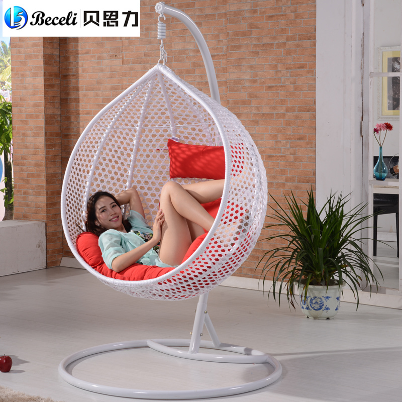 [Lynx] Beth Force The Sale Of Indoor Outdoor Swing Rattan Chair Outdoor  Balcony Living Room Hanging Basket Rocking Chair In Patio Swings From  Furniture On ...