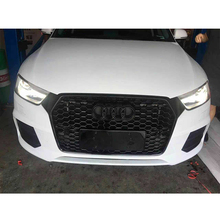 2016 RSQ3 Style black Front Bumper Mesh Grill Grille For Audi RSQ3 Q3 SQ3