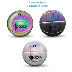 Световой уличного резиновая Баскетбол мяч размеры 5 6 7 для мужчин для женщин открытый и закрытый Профессиональный Баскетбол s Команда