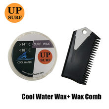 SURF Base Wax+surf wax comb+Fin Key tropical/cool/cold/warm wax Hot Sell Surfing Wax Free Shipping(China)