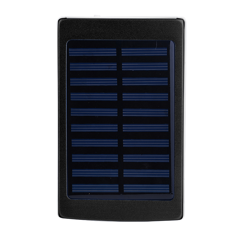 DIY Solar 18650 Power Bank Box 5*18650 Charger Box Powerbank Case Dual USB Port With LED Lighting For Mobile Phone