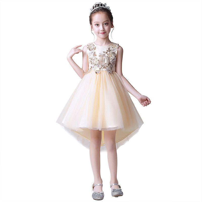 New Teenage Girls Mesh Embroidery Princess Dress Toddler Girl Clothes Vestidos Kids Dresses For Girls Wedding Party Gowns F70New Teenage Girls Mesh Embroidery Princess Dress Toddler Girl Clothes Vestidos Kids Dresses For Girls Wedding Party Gowns F70