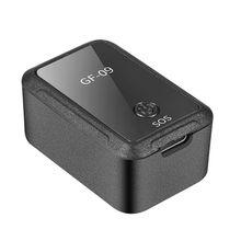 Новое Мини-Автомобильное приложение GF09 gps локатор Адсорбция запись анти-падение устройство Голосовое управление запись оборудование для слежения в реальном времени