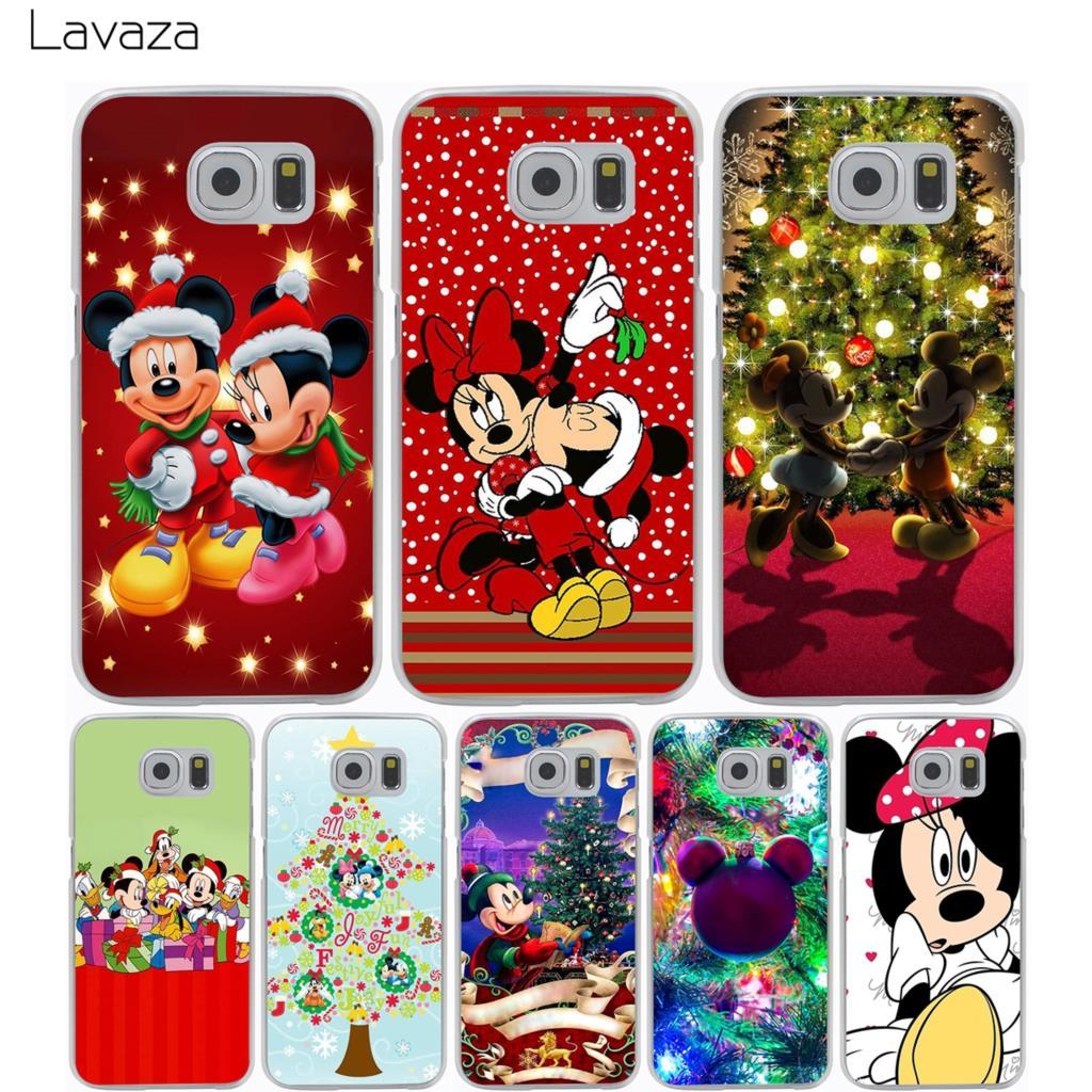 Lavaza Christmas Mickey Minnie Case for Samsung Galaxy A3 A5 A8 J1 J2 J3 J5 J7 Prime 2016 2017 2018 Note 5 8