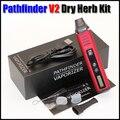 Pathfinder V2 Сухой Травы Испаритель Starter Kit 2200 мАч Контроля Температуры Механическая Mod VS Titan 1 2 Сигареты Electronique Жидкостью Vape