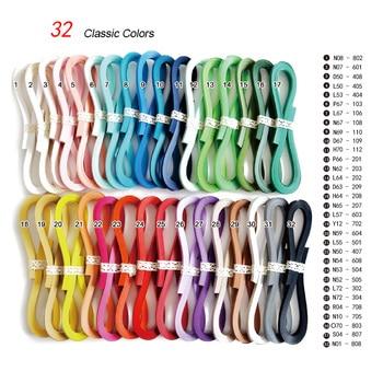 JUYA Tante Papel Quilling Conjunto com 72 Cores Individuais, 1.5/3/5/7/10mm largura, 40 Tiras Tira Total de Papel DIY Handmade Artesanato