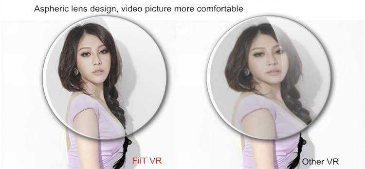 FIIT VR 3D Virtual Reality Video Helmet Cardboard 2.0 VR Glasses Box for 4.0-6.5 inch Smartphone Lightweight Ergonomic Design (16)