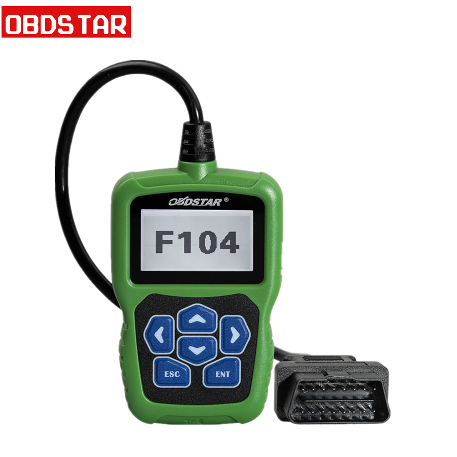 OBDSTAR F104 for Chrysler Jeep & Dodge Pin Code Reader and Key Programmer Support New Models for ...