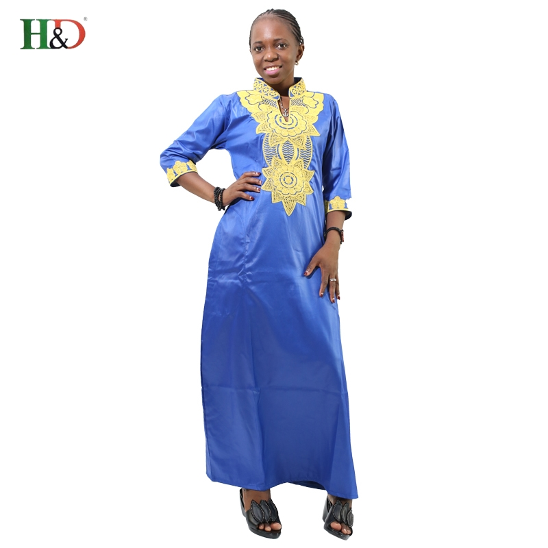 Free Shipping Bazin African Traditional Private African Dashiki Riche bazin Dresses For Women African Custom Clothes
