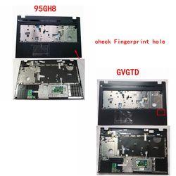 GZEELE nowy dla DELL Vostro 3700 V3700 wielkie litery podpórce pod nadgarstki z touchpadem górna skrzynka zgromadzenie 95GH8 095GH8 0GVGTD GVGTD ramka na klawiaturę czarny