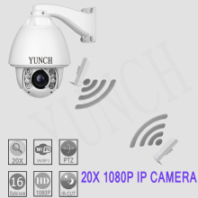 Full-HD 1080P Surveillance camera with Hik module wifi Auto tracking PTZ IP camera support  waterproof