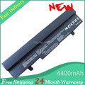 Black 5200mAh Laptop Battery for Asus Eee PC EEE PC 1001HA 1001PX 1005 HA 1005H 1005P 1005PE 1101HA Free Shipping