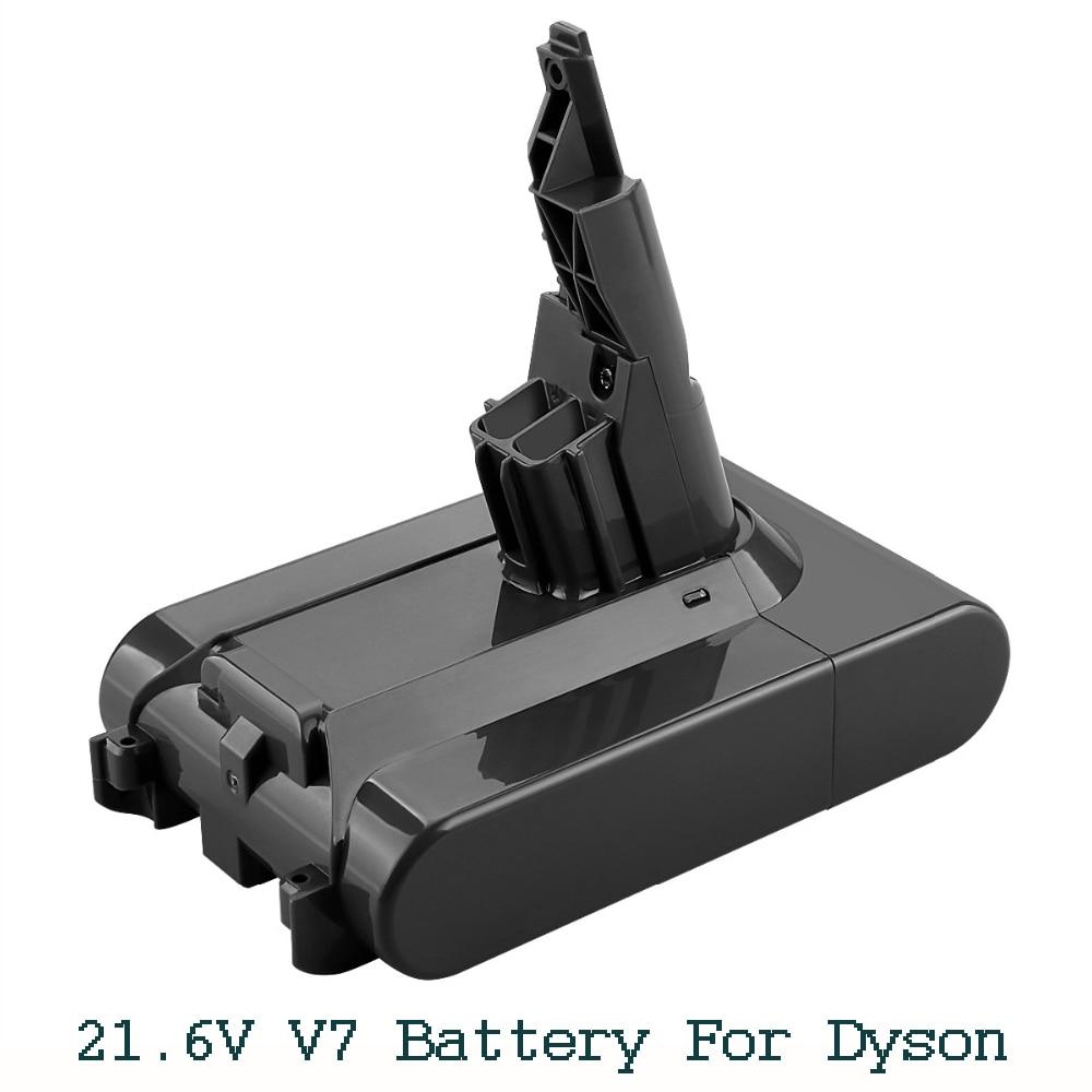 21 6V 3500mAh Li ion V7 Battery for Dyson V7 FLUFFY Extra Mattress Trigger Animal