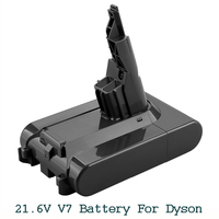 21 6 V 3500mAh Li-Ion V7 Batterie für Dyson V7 FLAUSCHIGEN/Extra/Matratze/Trigger/Tier