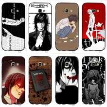 Protective Japan Anime Death Note Phone Cover for Samsung A5 Case Galaxy A3 A6 S6 S7 Edge S8 S9 Plus Note 8 9 Covers death note anime character figures 8 piece set