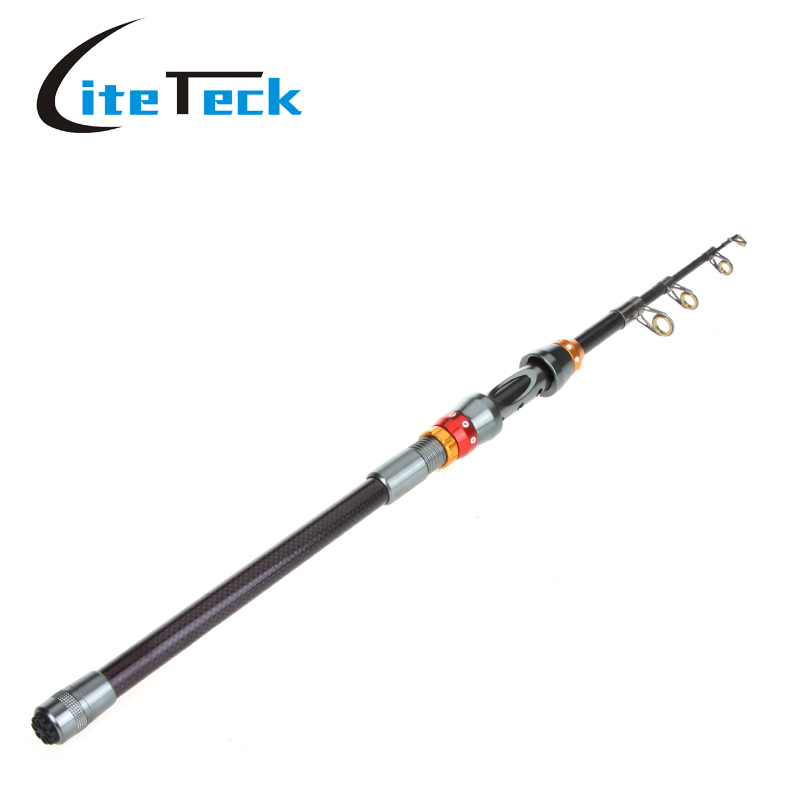 Sales carbon fiber fish rod 1 8m portable telescopic for Carbon fiber fishing rod