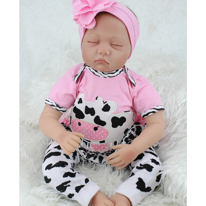 fd326a0f672d Detail Feedback Questions about Handmade 55cm Silicone Reborn Baby ...