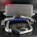FMIC Upgrade Intercooler + набор трубопроводов из сплава Подходит для Nissan 240SX S13 SR20DET 89-94 черный/красный/синий
