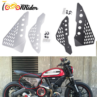 Aluminum Side Mid frame Cover Panel Protector Guard Fairing for Ducati Scrambler Sixty /Desert Sled/ Full Throttle/Urban Enduro