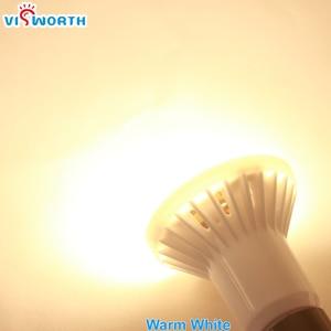Image 4 - VisWorth (10 шт./лот) R50 Светодиодная лампа E14 хрустальная лампа Smd5730 AC 110V 220V 240V лампада холодный теплый белый для украшения дома