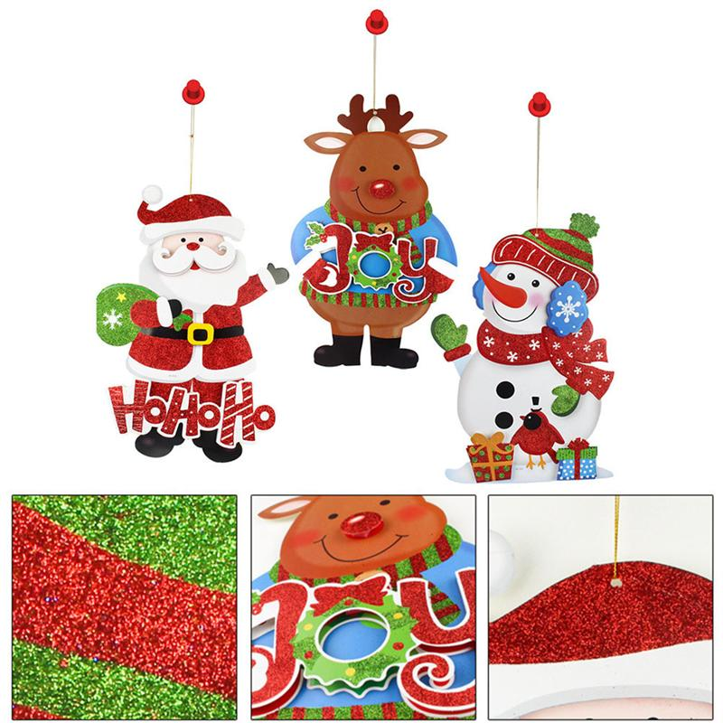 "40X60/"" Screen Virtual Holiday Projector Christmas Santa Claus Halloween Window"