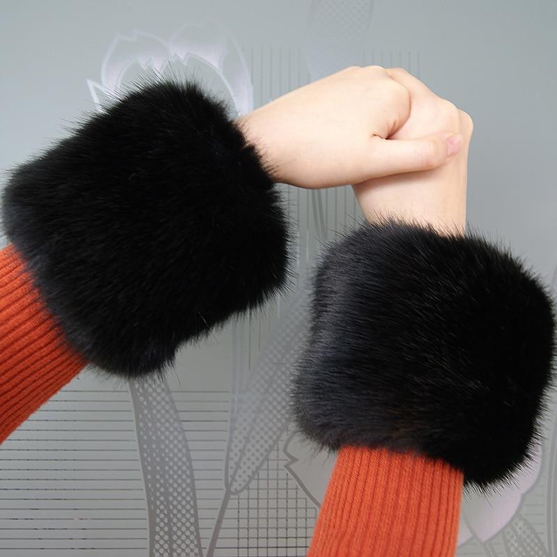 Armstulpen Jaycosin Mode Winter Warme Frauen Faux Pelz Handgelenk Wärmer Slap Auf Manschetten Arm Wärmer J12