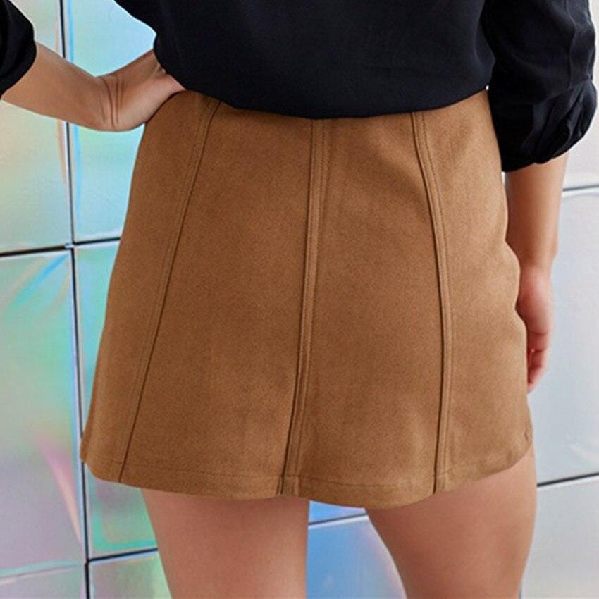 HTB1bCbUPpXXXXXJXFXXq6xXFXXX5 - Spring Button Suede Leather Skirts JKP058