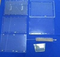 Size 0 100 Holes Manual Capsule Filling Machine Pharmaceutical Capsule Maker Filler For DIY Herbal Capsules