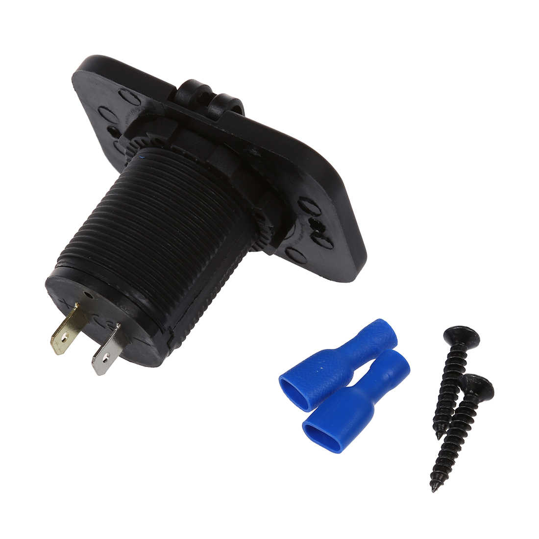 1 Set Adapter Socket 2 USB Ports Car Charger For 12V Car Auto