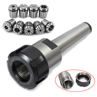 10pcs Set MT3 M12 ER32 Collet Chuck Morse Taper Holder ER32 Spring Collets For CNC Lathe