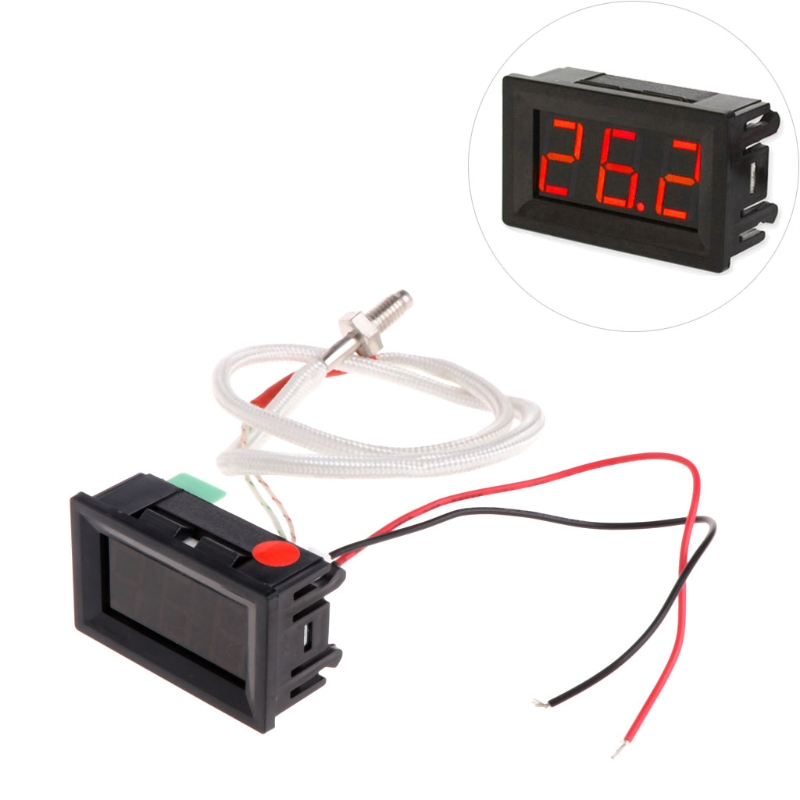 1Pc XH-B310 Digital Thermometer 12V Temperature Meter K-type M6 Thermocouple Tester W315 portable digital lcd thermometer with k type thermocouple sensor double channel temperature meter dm6802b