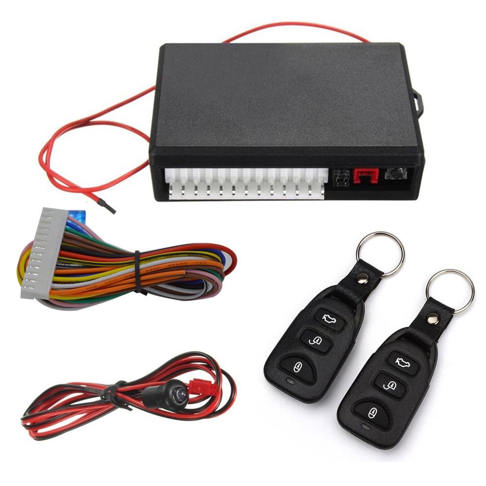 Sistema Keyless da Entrada Do Carro Universal Auto Veículo Kit Fechadura Da Porta Central Controlo Remoto DXY88