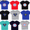 V-TREE Boys Short Sleeve T Shirts Summer Baby Boy Cotton TShirts Children Superman Star T-Shirts Toddler Casual Shirt Sweatshirt