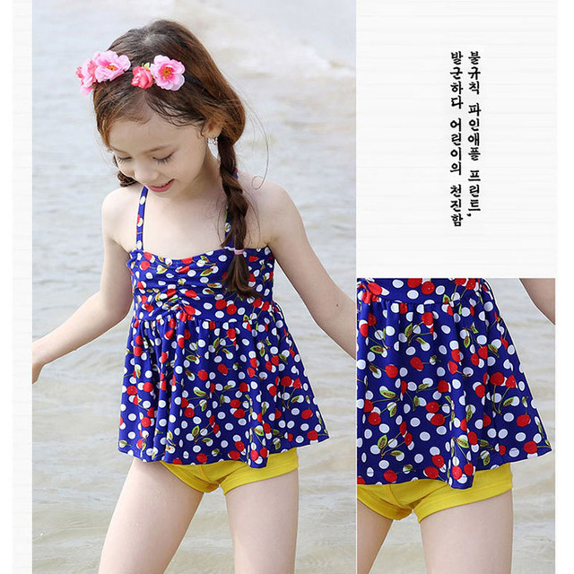 8e341e3cee Deux pièces maillot de bain pour petite fille robe de bain violet papillon  maillots de bain