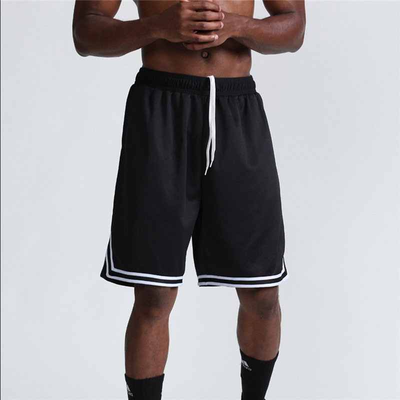 Sports jogging shorts pants breathable quick drying loose basketball sweat proof fitness running shorts with shirt in Trainning Exercise Shorts from Sports Entertainment