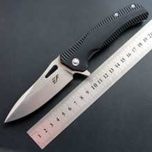 лучшая цена Eafengrow EF75 58-60HRC D2 Blade G10 Handle Folding knife Survival Camping tool Hunting Pocket Knife tactical edc outdoor tool