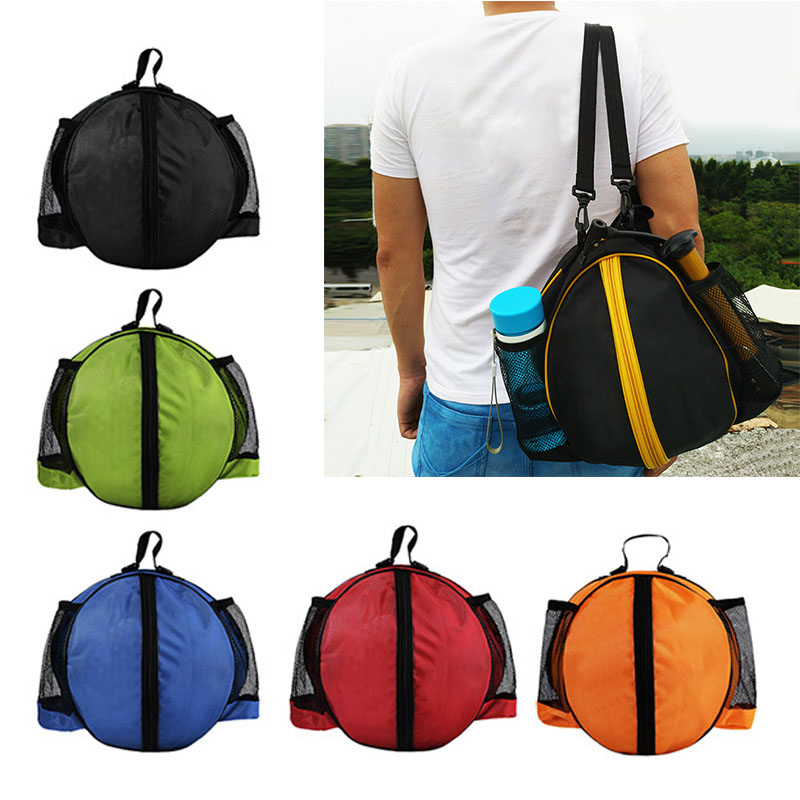 Outdoor Sport Shoulder Soccer Ball Bags Kids Football Volleyball Basketball Bags Training Accessories EDF88