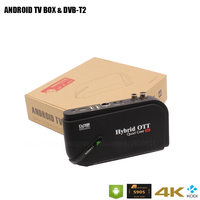Android TV BOX With DVBT2 Amlogic S905X Quad Core Two In One TV Receiver Built In