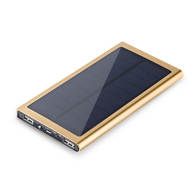 Carregador solar portátil universal bateria de backup powerbank carregador de emergência ao ar livre banco de energia móvel para telefone celular/iphone