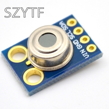 MLX90614 عدم الاتصال درجة حرترة تحت الحمراء وحدة الاستشعار iic واجهة GY 906 1 قطعة