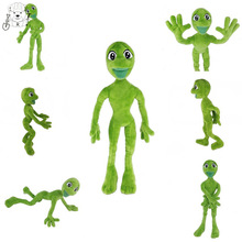 The Hottest Toy Dame Tu Cosita Martian Man Plush Toys & Stuffed Animals Dancing Alien Green Crazy Frog Soft Doll