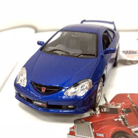 Brand New KT 1 34 Scale Car Model Toys JAPAN HONDA IntegraType R Diecast Metal Pull