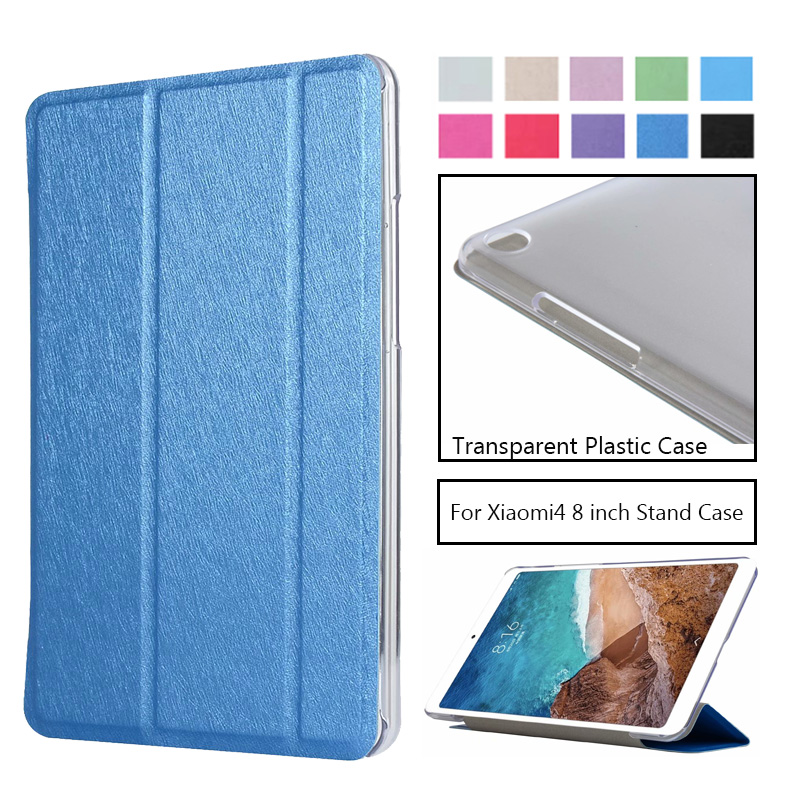 Cover Case For Xiaomi MiPad 4 Mi Pad4 Protective PU Leather Stand Case For XIAOMI Mi Pad 4 MiPad4 8.0 Inch Tablet PC Case Covers