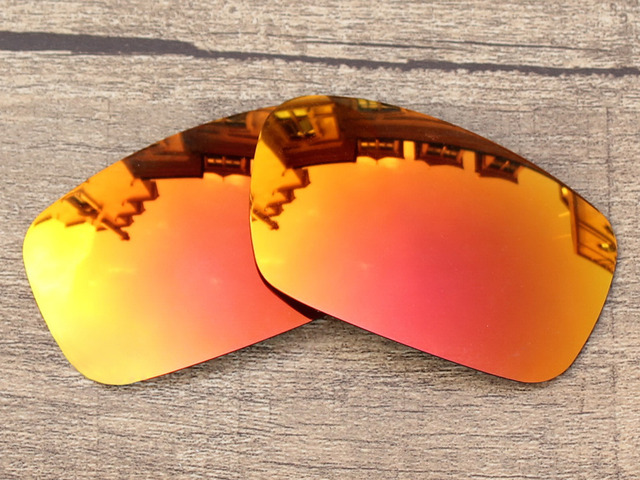 Sunglasses With 100 Uva And Uvb  aliexpress com fire red mirror polarized replacement lenses