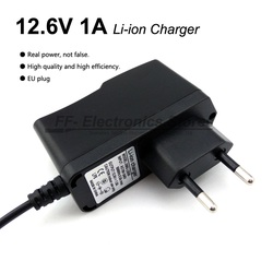 Liitokala 12.6 V 1 A lithium battery packs charger 12 V charger DC head 5.5 * 2.1mm